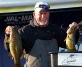 Fred Hunter of Canton, Ohio, led the Co-angler Division with a limit weighing 17 pounds, 6 ounces.