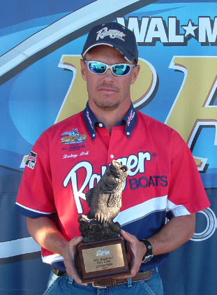 Image for Bell best boater in Regional Championship on Kerr Lake
