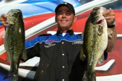 Day-one pro leader Jim Opalecky of Elk Grove, Calif., turned in a two-day total of 50 pounds, 2 ounces to finish the day in third place.