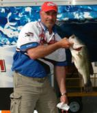 Tim Reneau sits in second place after day one with a limit weighing 27-11.