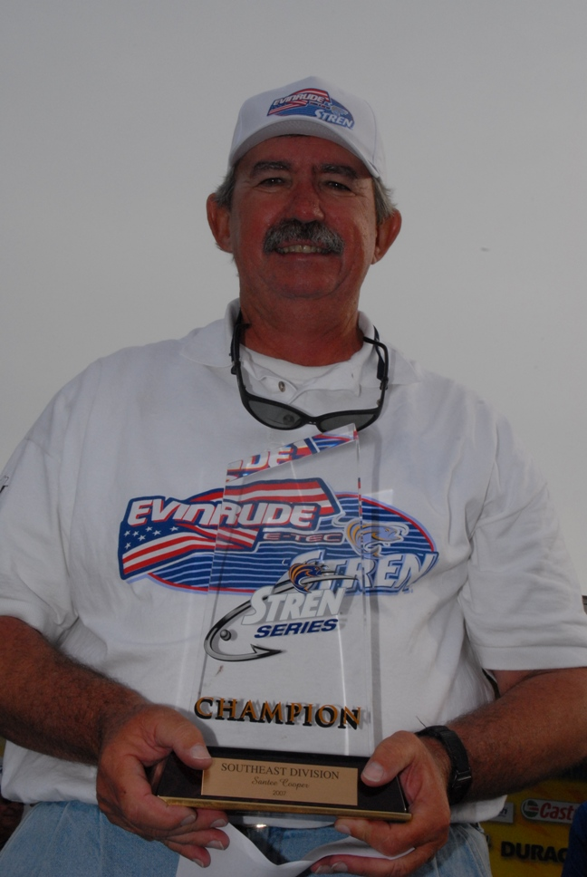 Image for Rodrigue takes Stren Southeast co-angler title