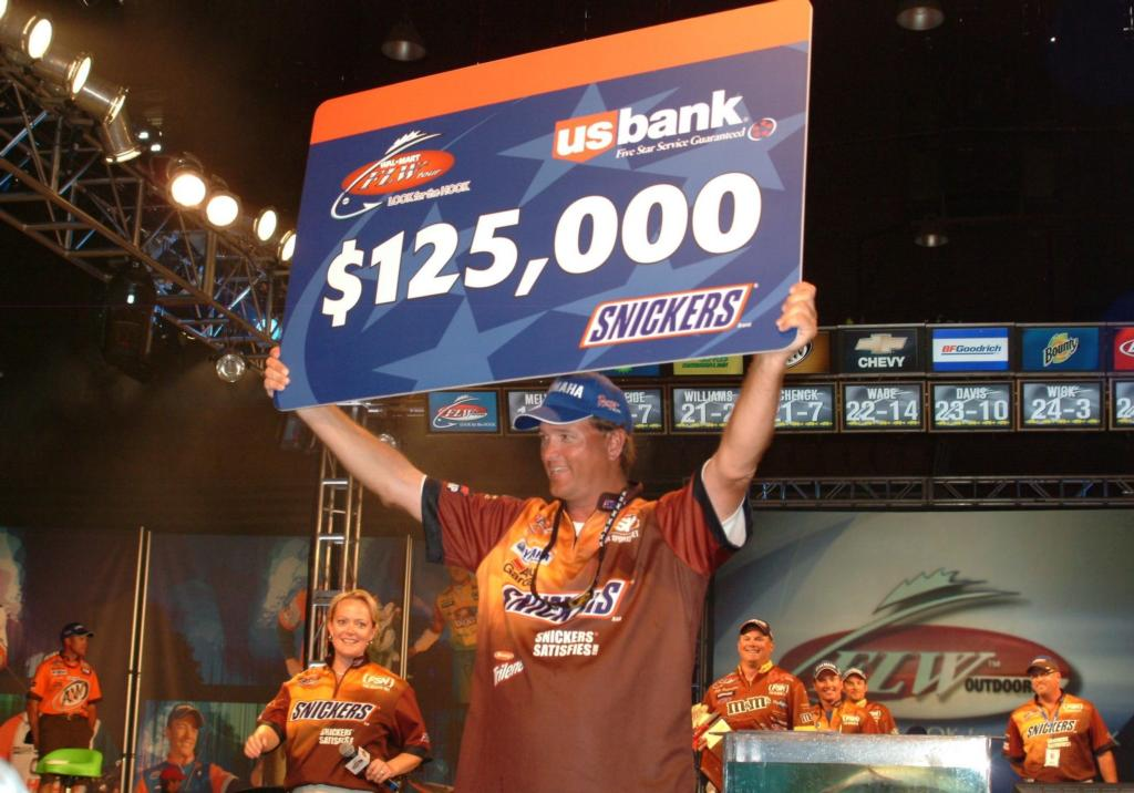 Image for Baumgardner completes Snickers trifecta