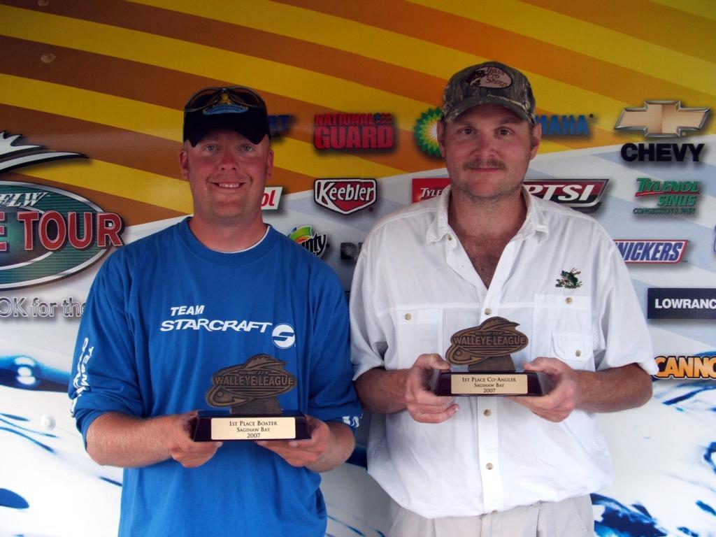 Image for Seiferlein wins Walleye League event on Saginaw Bay