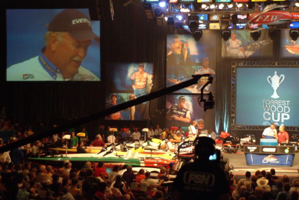 Image for Wade leads $2 million Forrest Wood Cup