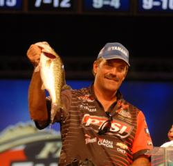 PTSI pro Ron Shuffield of Bismarck, Ark., finished third with a two-day total of 15 pounds, 13 ounces worth $40,000.