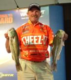 Alvin Shaw finished day one on Smith Lake in fifth place with 13 pounds, 6 ounces.