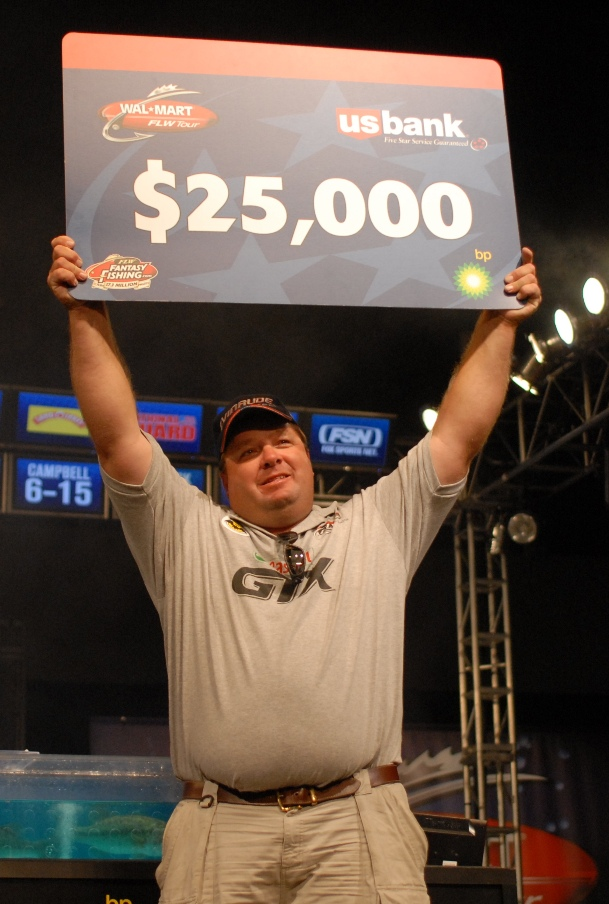 Image for Isbell wins co-angler title at Fort Loudoun-Tellico