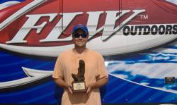 Allen Pair of Leeds, Ala., earned $2,197 as the co-angler winner Saturday thanks to five bass weighing 11 pounds, 11 ounces that he caught on the main river throwing a crankbait.