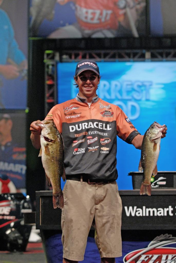 Image for Bennett leads $2 million Forrest Wood Cup on Lake Murray