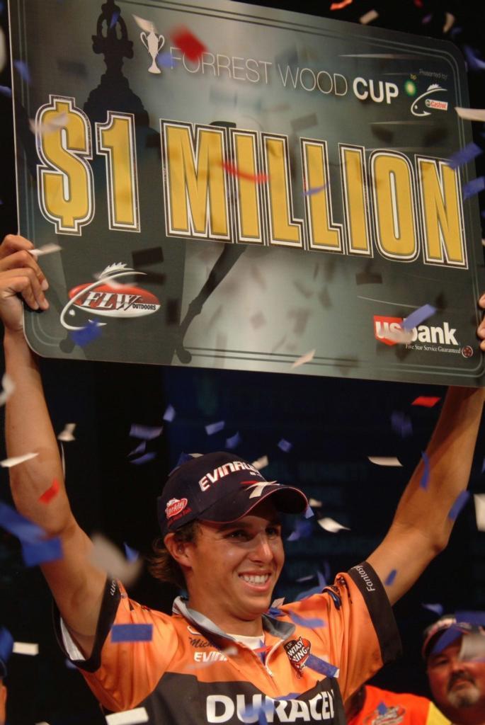 Image for Bennett wins $1 million Forrest Wood Cup