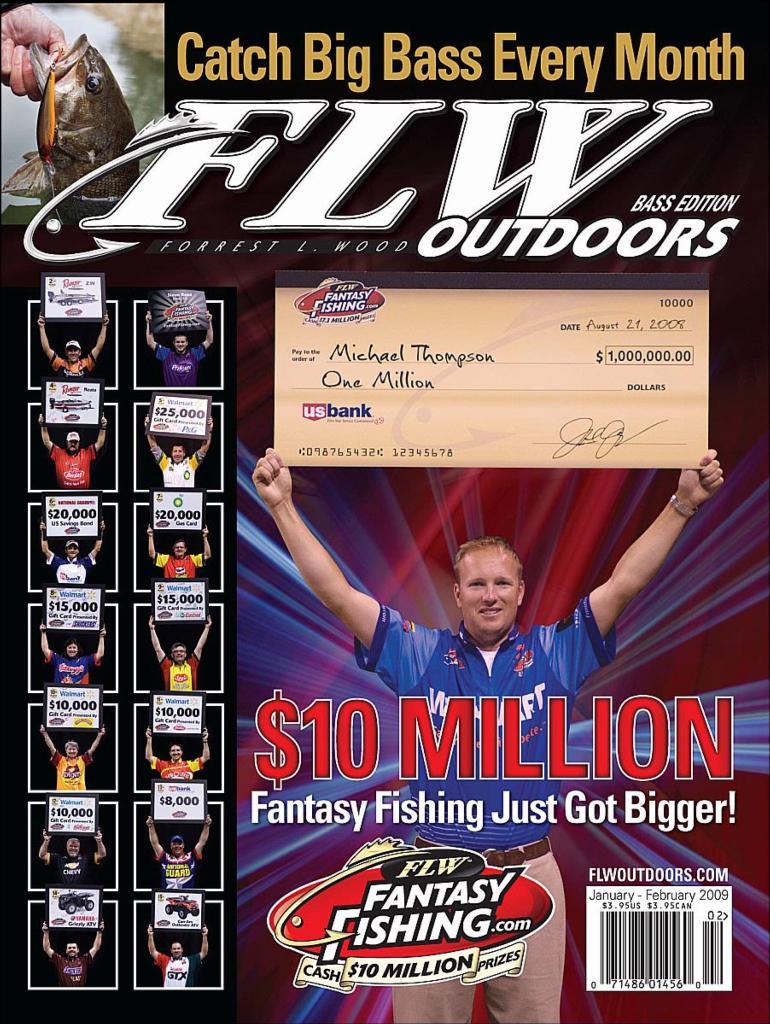 Image for Fantasy Fishing: 2009 Primer