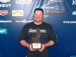 Co-angler Hunter Campbell of Henderson, N.C., took the BFL Piedmont Division tournament title at Kerr Lake with a 15-pound, 5-ounce catch.