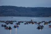 Snow on the horizon? There is a 50 percent chance of snow on day one of the FLW Tour event on Table Rock