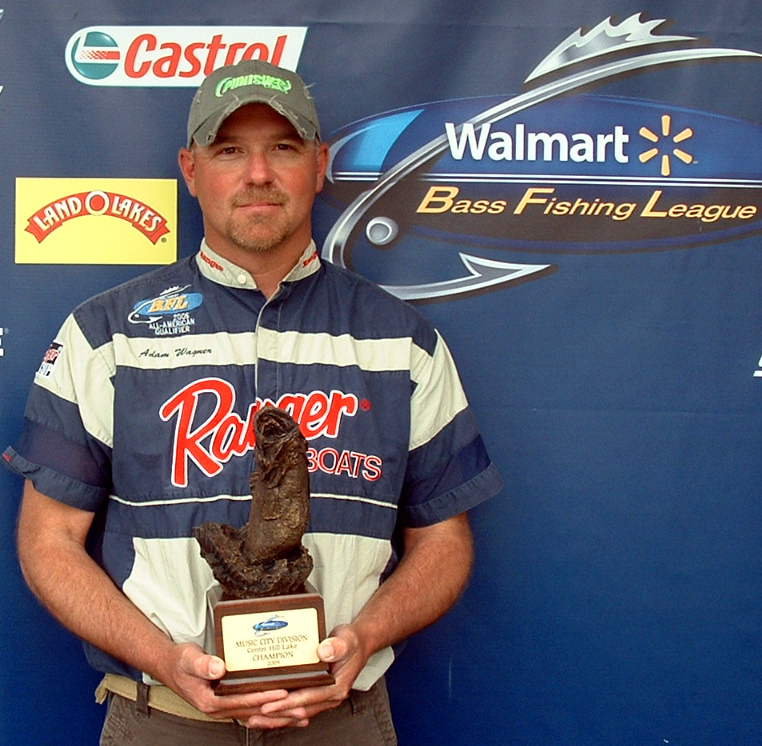 Image for Wagner wins Walmart BFL event on Center Hill Lake
