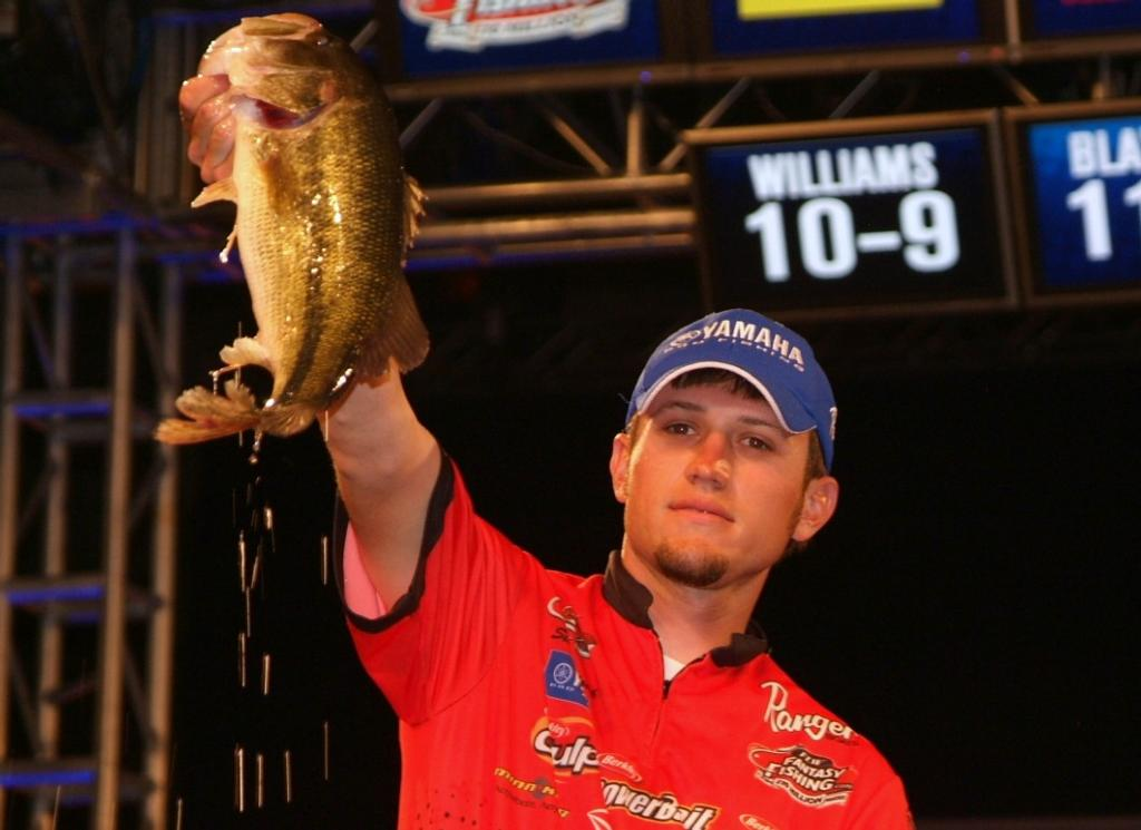 Image for Blaylock blossoms into FLW Tour's youngest winner