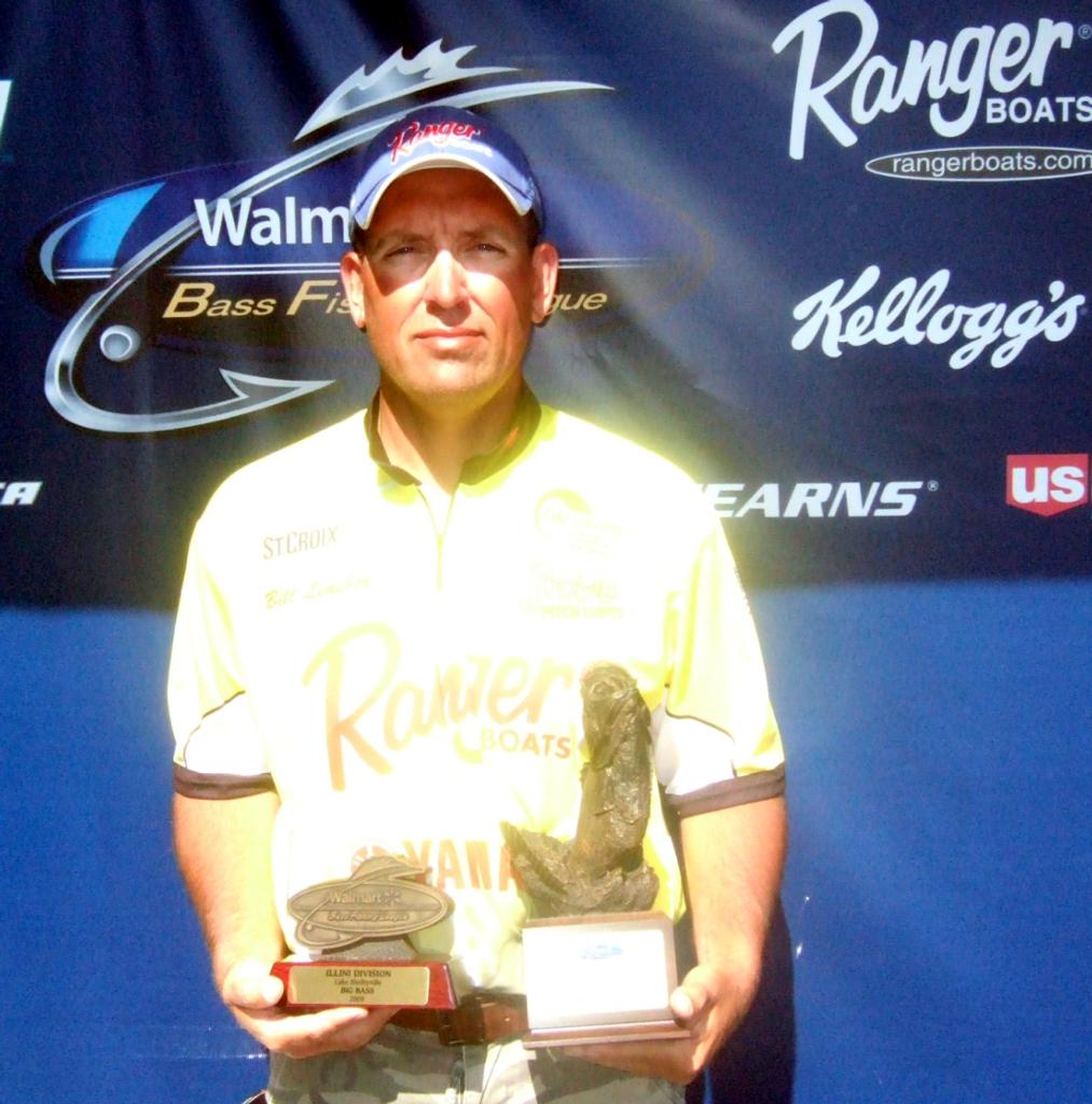Image for Leasher wins Walmart BFL event on Lake Shelbyville