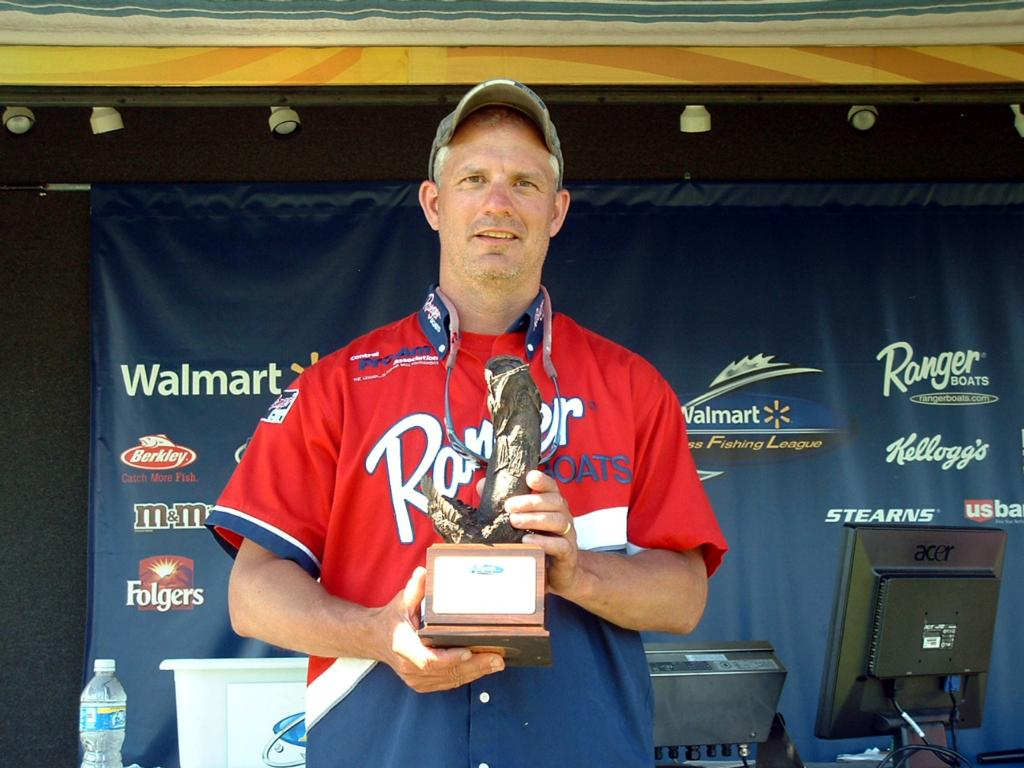 Image for Reitz wins Walmart BFL event on Lake Winneconne