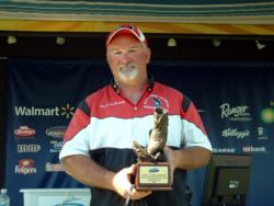 Mark McCartney of Rochelle, Ill., earned $2,157 as the co-angler winner of the June 20 BFL Great Lakes Division event.