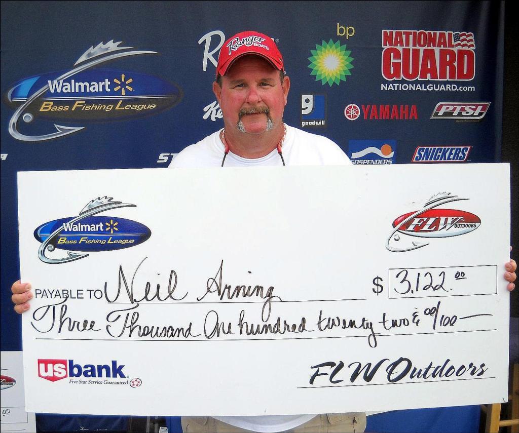 Image for Arning wins Walmart BFL tourney on Mississippi River
