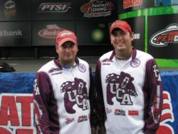 The Central Arkansas team of Dylan Hays of Greenbriar, Ark., and Jon Paulovich of Conway, Ark., finished the FLW College Fishing event at the Detroit River in fourth place.