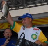 Chris Martinkovic of Liberty Township, Ohio, finished runner up with a four-day total of 39 pounds, 14 ounces.