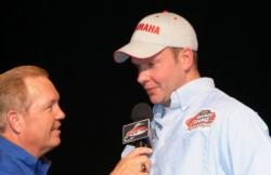 Nebraska co-angler Troy Vanecek finished the 2009 FLW Walleye Tour Championship in third place.