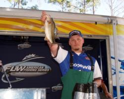 Co-angler Sonny Kopech placed third at Sam Rayburn Reservoir.