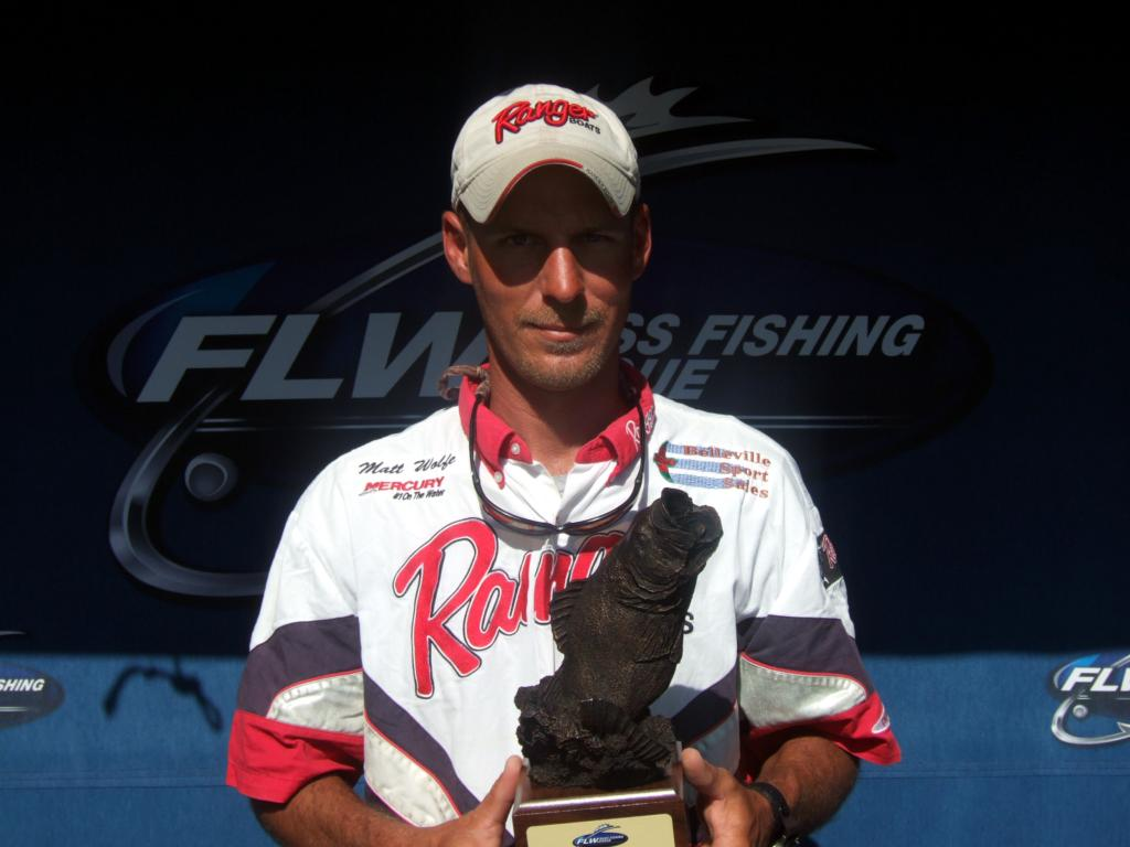 Image for Wolfe wins BFL event on Lake Shelbyville