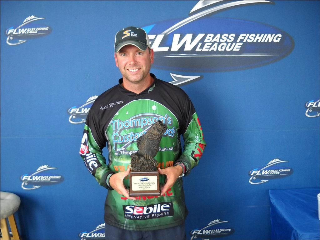 Image for Walters wins BFL event on High Rock Lake