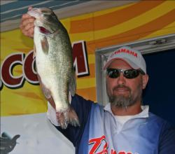 Top pro Tom Belinda put his faith in a jig patterned to resemble local forage.