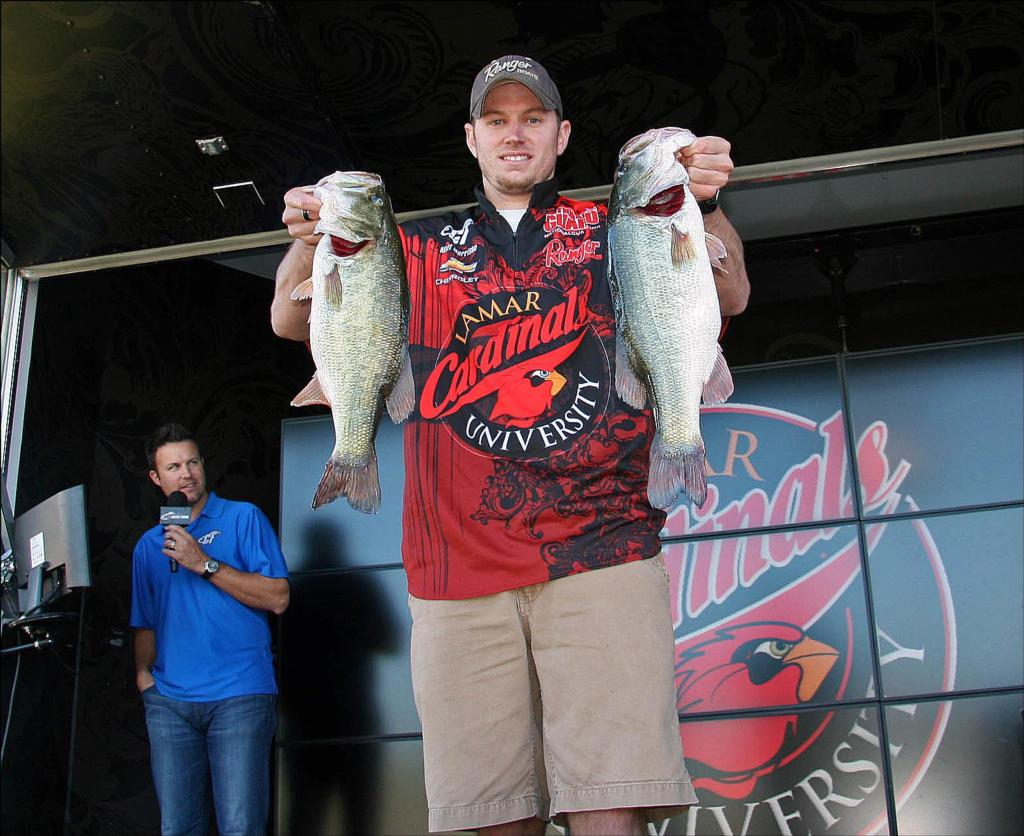 Image for Lamar University leads College Fishing Texas Regional Championship