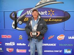 Non-boater Robert Bogard, Jr., of Conway, Ark., used a first-place catch of 13 pounds, 12 ounces to win the Walmart BFL Arkie Division event on DeGray Lake. Bogard netted $1,700 in prize money.