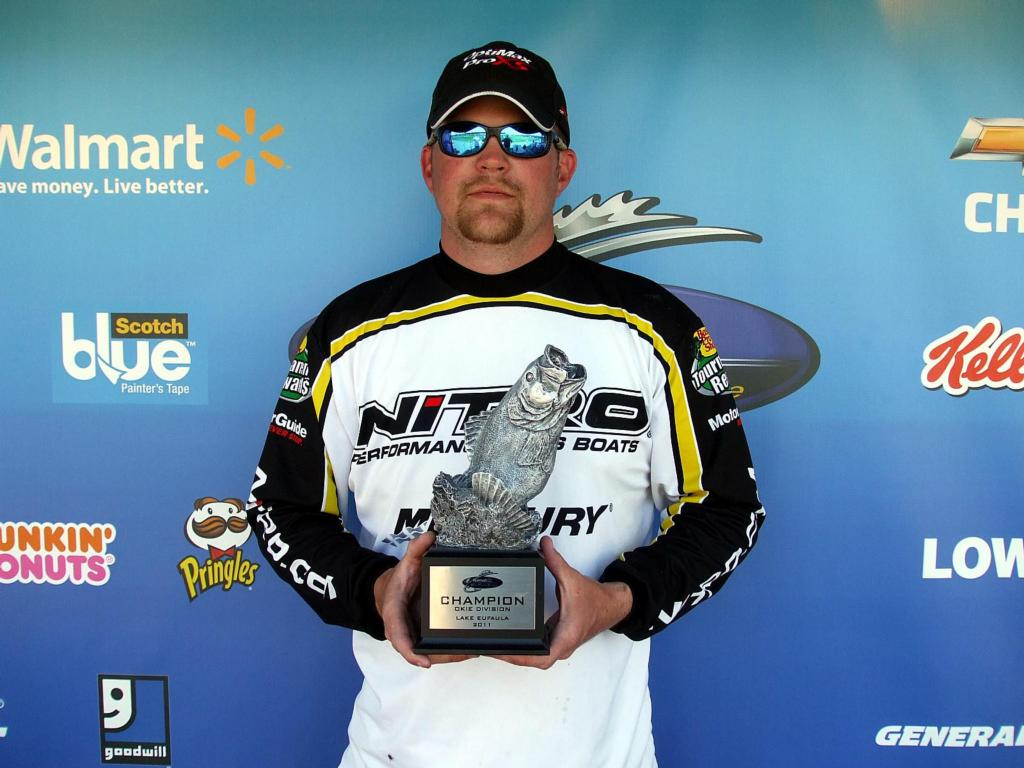 Image for Jones hooks win on Lake Eufaula