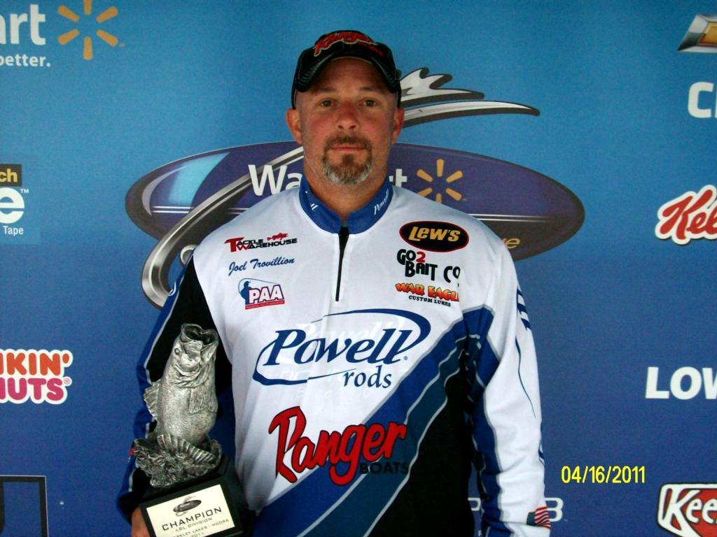 Image for Trovillion takes BFL win on Kentucky, Barkley lakes