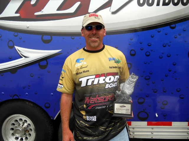 Image for Leonard wins BFL event on South Holston Reservoir
