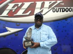 Charles Wells Jr. of Bristol, Tenn., earned $1,840 as the Co-angler Division winner of the May 7 BFL Volunteer event.