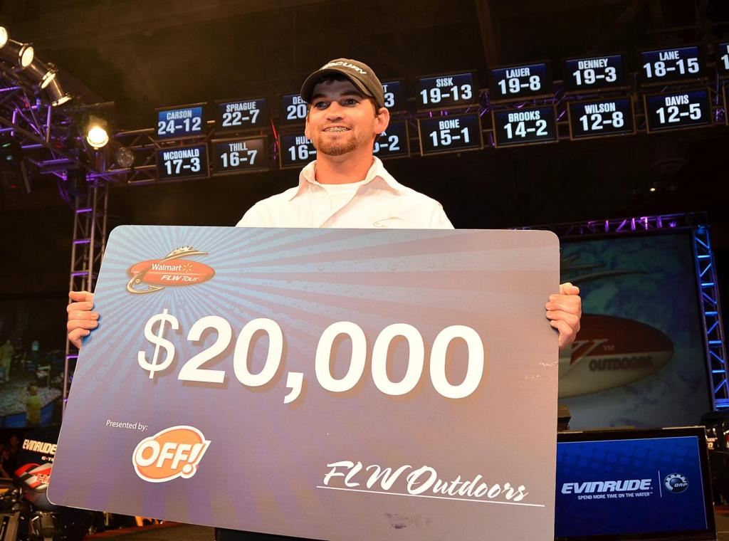 Image for Carson clinches co-angler title