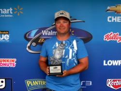 Donald Oksanen of Chicago earned $1,578 as co-angler winner of the June 11 BFL Illini event.