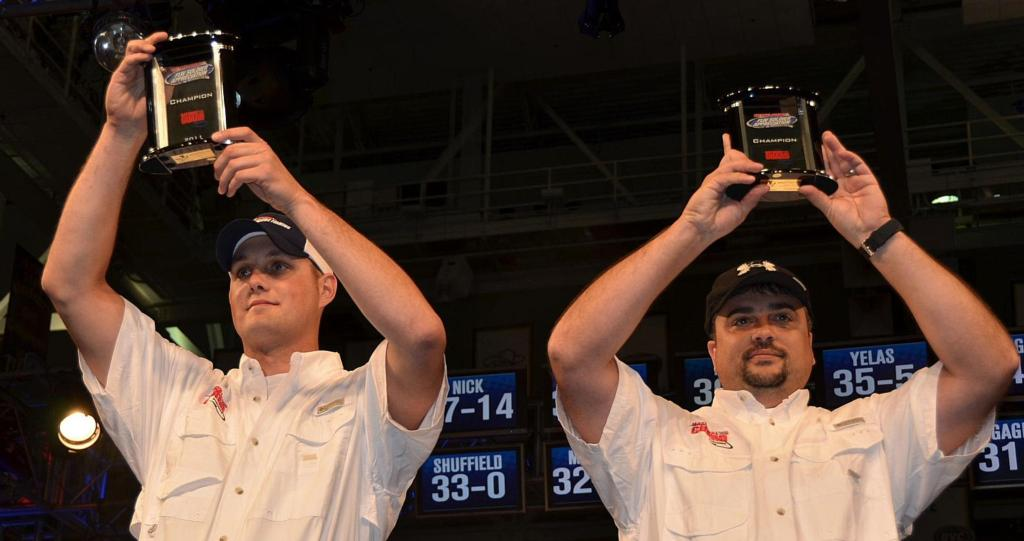 Image for Pool, Harrison win National Guard FLW Soldier Appreciation Tournament on Kentucky Lake