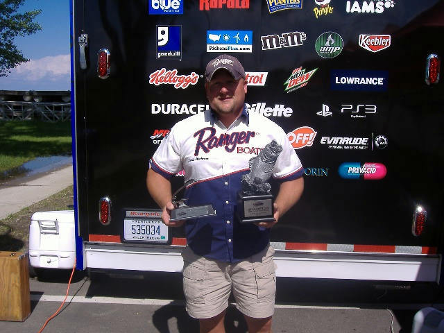 Image for Hartman wins BFL event on Lake Champlain