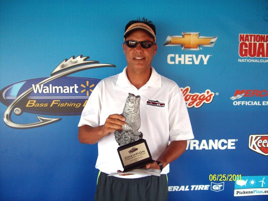 Image for Johnston wins Walmart BFL event on Grenada Lake