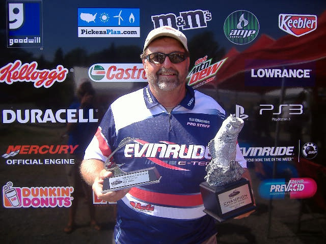 Image for Chapman best BFL boater at 1000 Islands