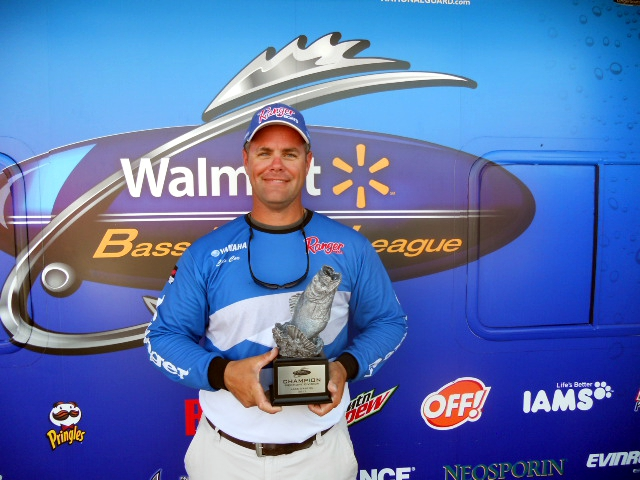 Image for Cox wins Piedmont Division event on Lake Gaston