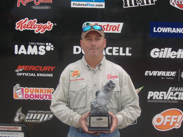 Image for Chandler wins BFL Super Tourney on High Rock Lake