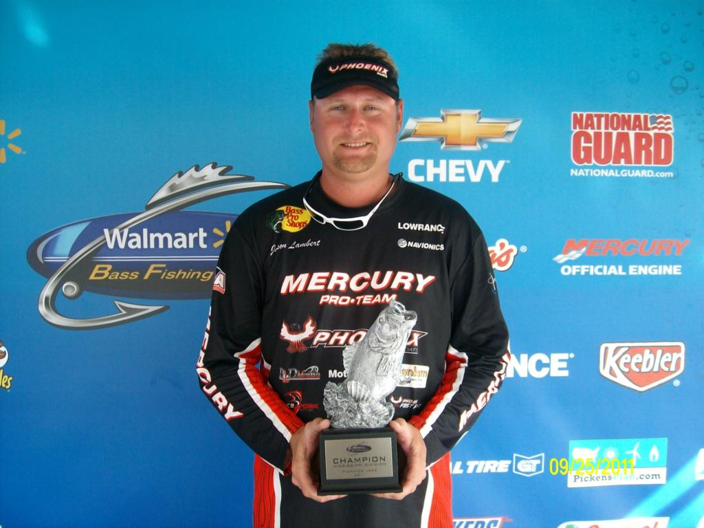 Image for Lambert wins BFL event on Pickwick Lake