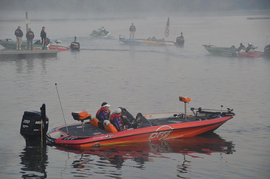 Image for FLW College Fishing Central Regional Championship under way