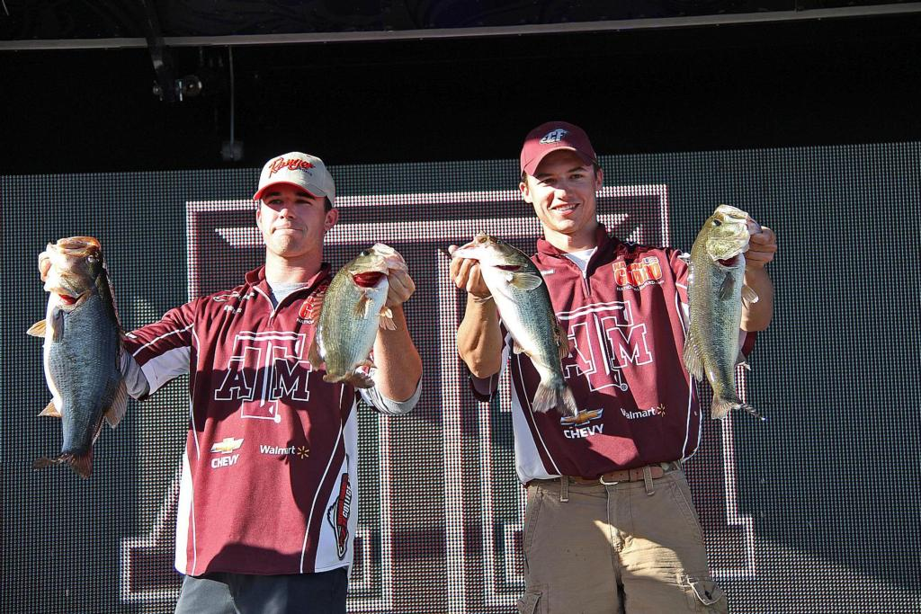 Image for Another lunker lifts Aggies to Somerville lead
