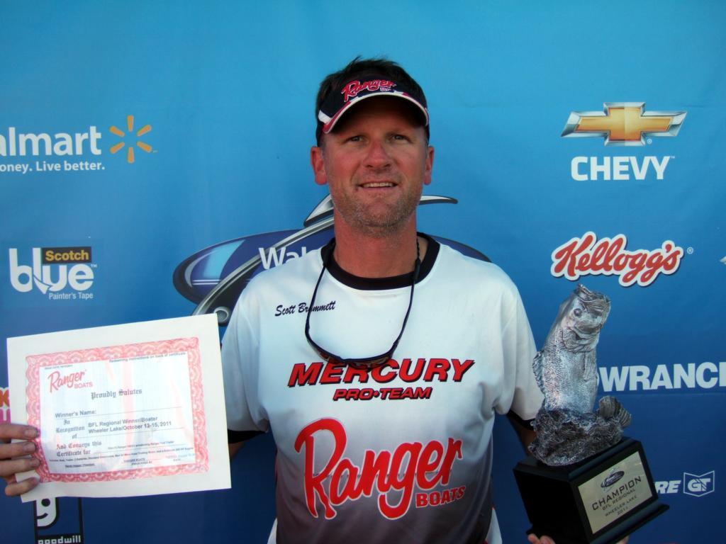 Image for Brummett wins BFL Regional on Wheeler Lake