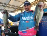 Prevacid pro Dan Morehead of Paducah, Ky., is now in third place with a three-day total of 41-15.