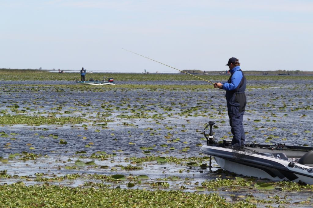 Image for FLW College Fishing Southeastern Conference opens on Lake Okeechobee